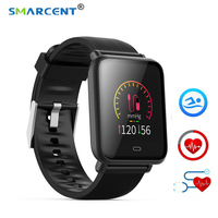 Q9 Smartwatch Waterproof With Heart Rate Monitor Blood Pressure Functions Sports Smart Watch For Android / IOS
