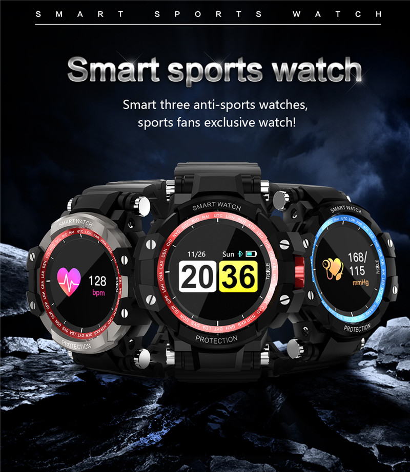 2018 Heart Rate Smart Watch for IOS Android Male Female App Bracelet Armband with Blood Pressure Game Mileage Step Sleep Tracker image