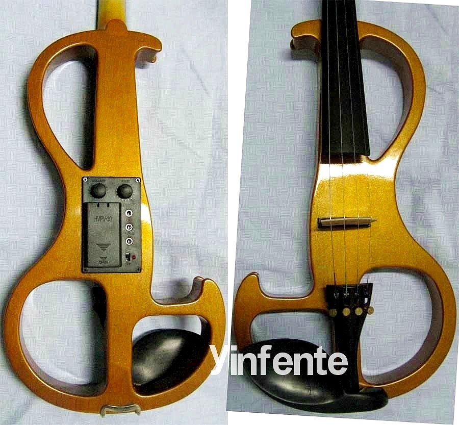 4/4 Electric Violin Patent Silent Pickup #2-05 one 4 string 4 4 electric violin patent silent pickup 2 08
