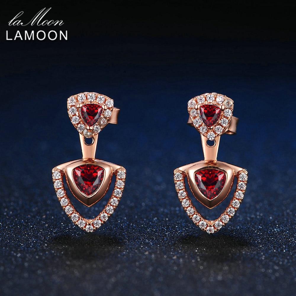 Fine Jewelry Genuine Garnet Heart Drop Earrings folq6WV