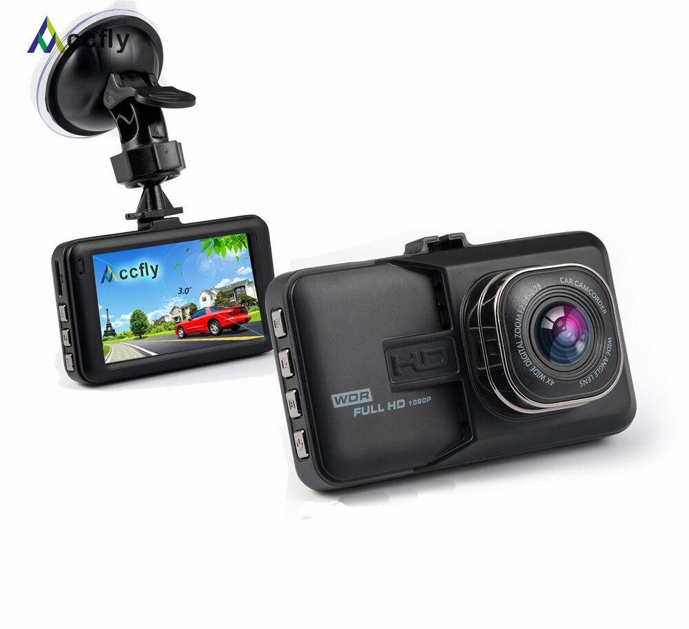Accfly Voiture DVR Dvr dash cam Caméra Dashcam voiture vidéo registrator 3.0 pouce Full HD 1080 P 170 degrés avec Parking moniteur