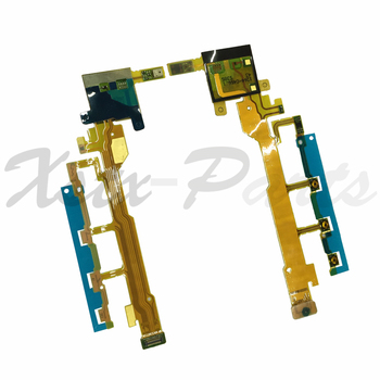 1PCS for Sony Xperia Z L36H L36i LT36i C6603 C6602 Volume Power ON OFF Button Keypad Switch Mic Flex Cable Replacement Parts image