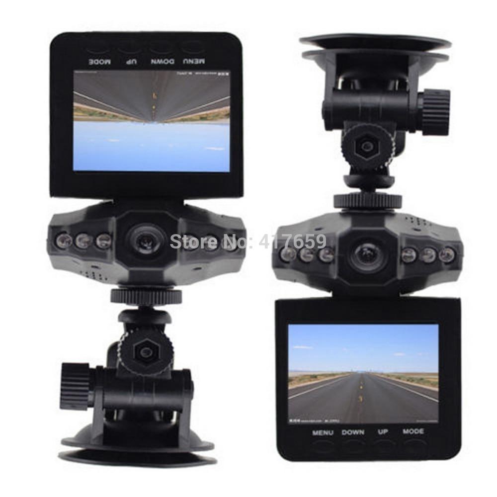 """imágenes para Nuevo 2.5 """"HD Cámara Del Coche Del Registrador LED DVR Carretera Dash cámara de Vídeo LCD 270 Grados de Amplio Ángulo de Detección de Movimiento de Alta Calidad"""