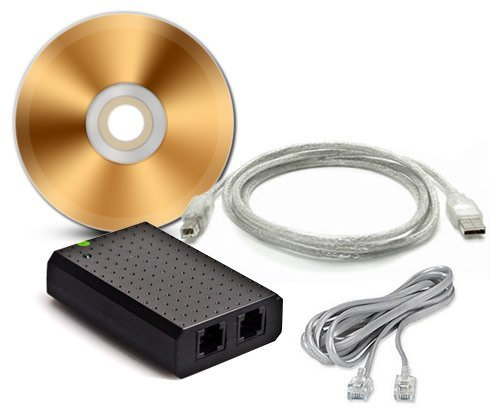 USB Phone Recorder / client management software included / Easy to use