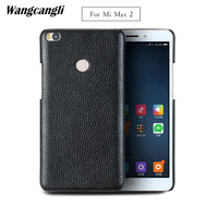 wangcangli For Xiaomi Mi Max 2 case leather business phone case For Xiaomi Mi Max 3 8 8se case lychee business phone case