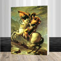 Napoleon Figure Painitng New Wall Art Framed Picture Painting By Numbers DIY Canvas Oil Painting Home