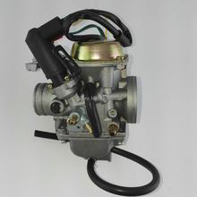 30 มิลลิเมตรคาร์บูเรเตอร์ PD30J สำหรับ 250cc ระบายความร้อนสกู๊ตเตอร์ ATV 172 มิลลิเมตร CF250 CH250 CN250 ส่วนที่เป็นเกลียว Qlink คอมพิวเตอร์ 250 roketa MC54 250B