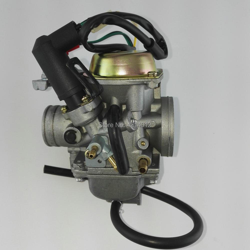 30mm Carburetor PD30J for 250cc water cooling Scooter ATV QUAD 172MM CF250 CH250 CN250 HELIX Qlink Commuter 250 Roketa MC54-250B goofit cylinder kit for honda elite ch250 helix cn250 baja hammerhead roketa zongshen chinese water cooled 250cc atv dirt bike