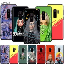 Lavaza Billie Eilish Arco Iris Blohsh caso para Samsung Galaxy S10 S9 S8 S7 S6 Plus Nota 9 8 M30 M20 m10 borde(China)