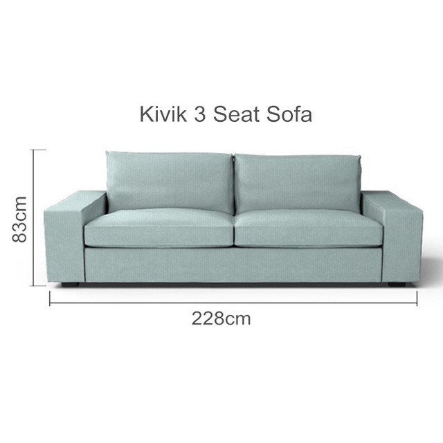 Amazing The Kivik 3 Seat Sofa Cover Replacement For Kivik 3 Seater Slipcover