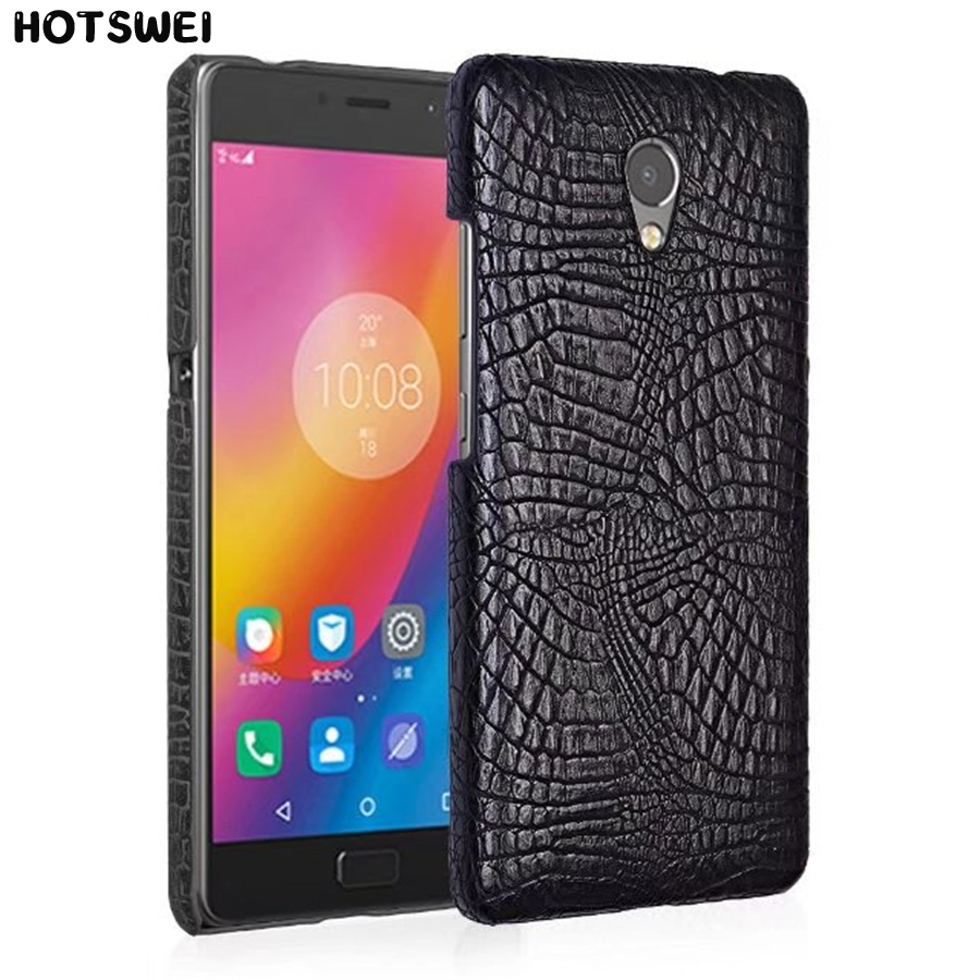 Case For Lenovo Vibe P2 C72 Luxury Crocodile Grain PU Leather Hard Slim Thin Full Back Cover Case Fundas For Lenovo P2 5.5 inch