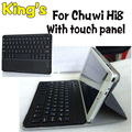 Alta Quaitly Bluetooth Wireless Keyboard Case para Chuwi hi8, para Chuwi Hi8 Pro Tablet PC marca envío gratuito + hot 4 regalos