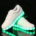 Cesta barato Luminoso Resplandor bambas tenis Entrenador De Simulación de Neón Brillante Zapato con Luz Led para Adultos Masculino Feminino Hombres