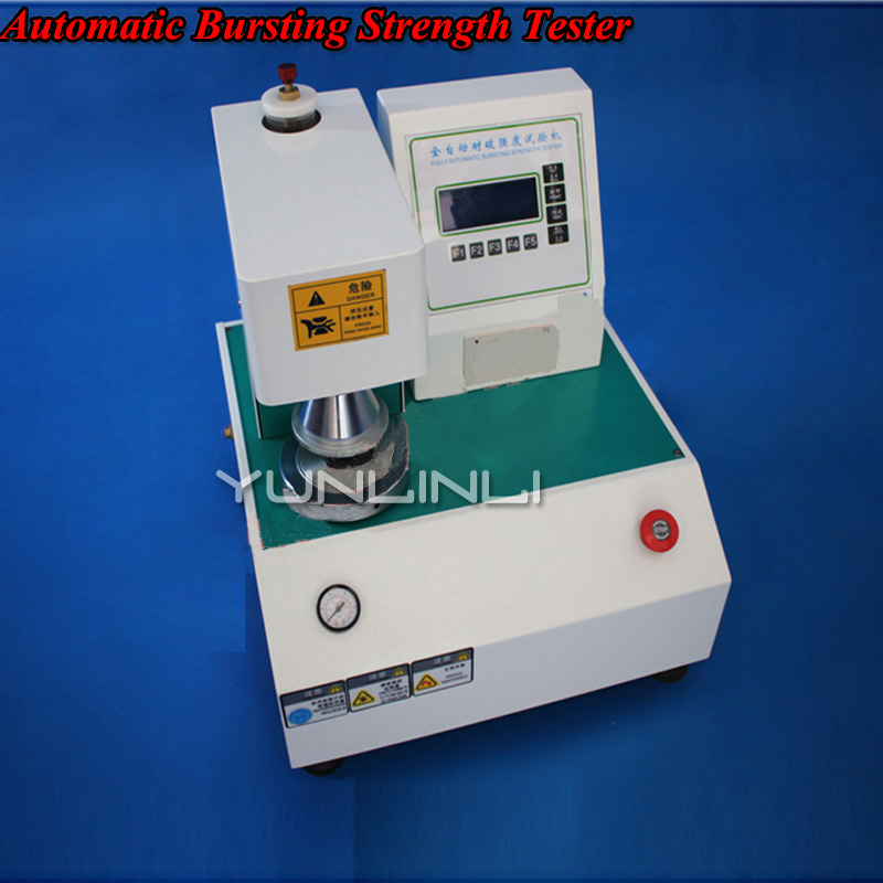 Automatic Breakage Test Machine Corrugated Box Crack Strength Tester Cardboard Sheet Blasting Tester Detection EquipmentLGD 8502
