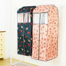 Фотография Large Volume Garment Bag Cloth Hanging Suit Coat Dust Cover Protector Wardrobe Storage Bag