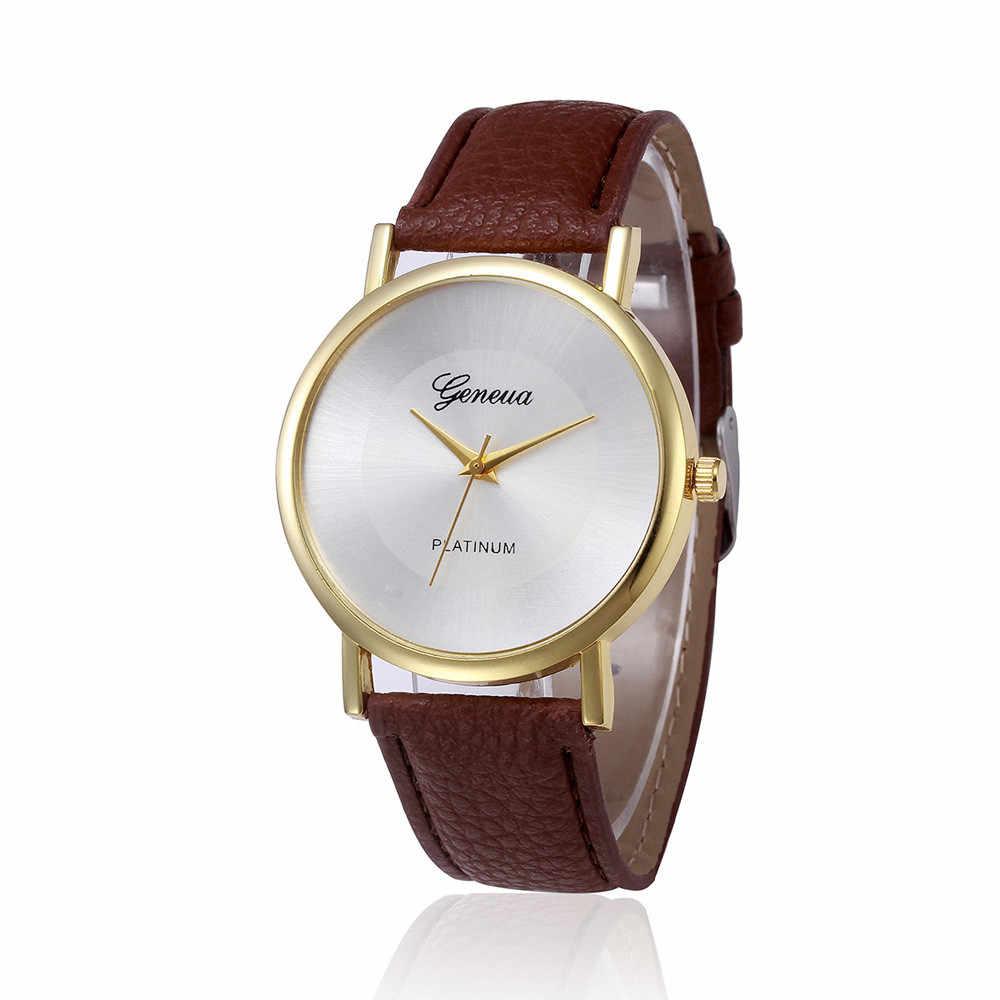 2019 nouveau luxe femmes montres mode en cuir bande analogique Quartz décontracté offre spéciale dames montres-bracelets de haute qualité reloj mujer AA4