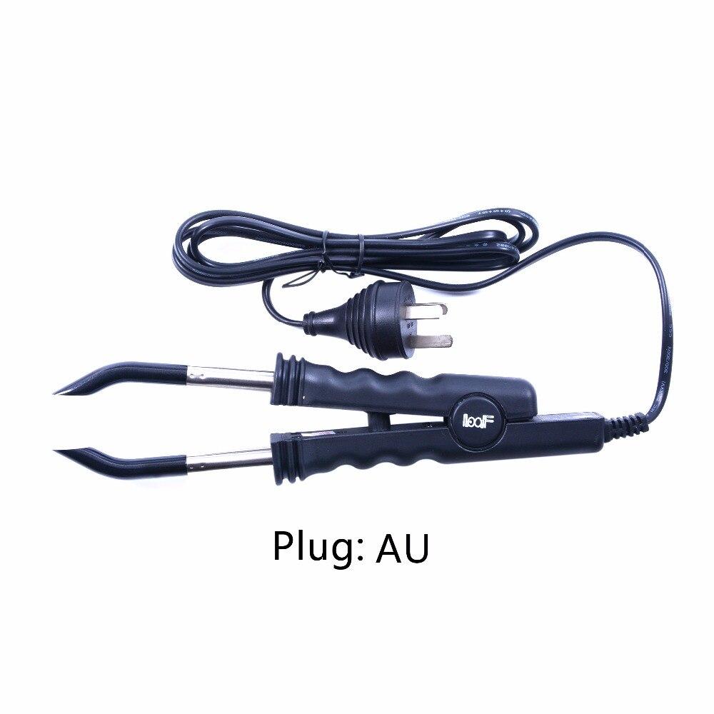 Постоянная температура Loof fusion утюжок для наращивания волос, кератиновые инструменты для склеивания, термоконнектор EU/AU/US/UK plug