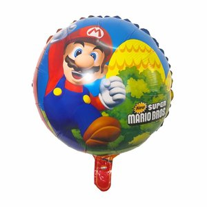 Image 5 - 50pcs 68*44CM Super Mario Balloon party Classic Toys Mario Bros Mylar foil Balloons super hero Birthday Party Decoration Balls