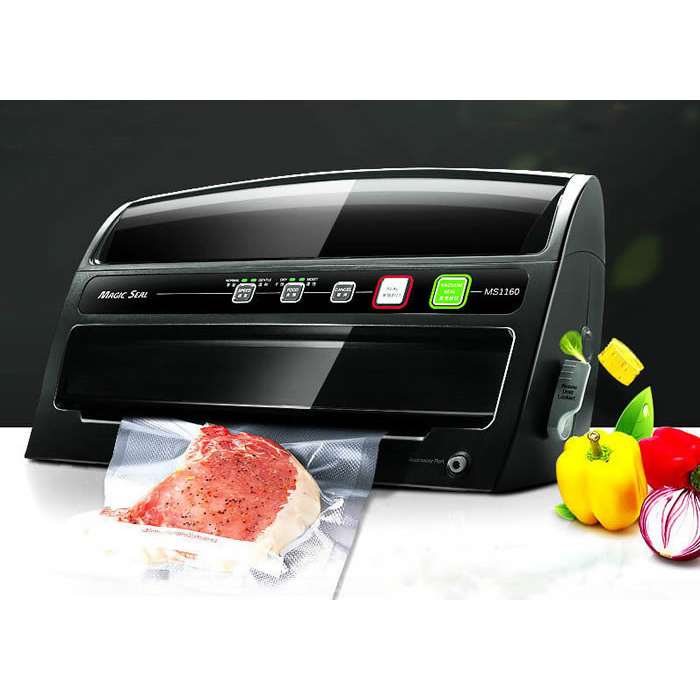 Free shipping Automatic Wet Dry Vacuum Food Sealer Household Food Preservation Multi Function Vacuum Sealing machine automatic vacuum food sealer household food preservation plastic packaging vacuum film sealing machine