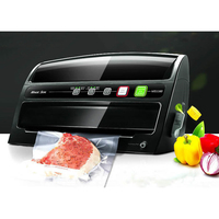 Free shipping Automatic Wet Dry Vacuum Food Sealer Household Food Preservation Multi Function Vacuum Sealing machine