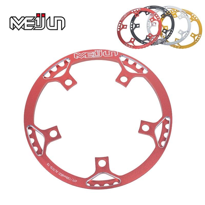 Цена за MEIJUN один диск шатуны chainring зубы 45 47 53 Т 412 изменение складной велосипед диск