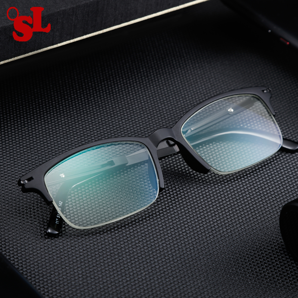 696b8a29bbc8 Detail Feedback Questions about OSL Men s Women s reading glasses matte  black frame nano coated lenses anti blue diopter +1.0 to 4.0 business  learning ...