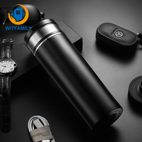 Multifunction Simple Design Car Heating Smart Mug Insulated Cup Electric Thermos Water Heater 12V Boiled Water Vacuum Flasks