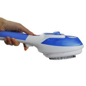 Image 3 - آلة تنظيف الملابس بالبخار الأجهزة المنزلية العمودي باخرة مع المكاوي فرش الحديد الكي الملابس للمنزل 220 V