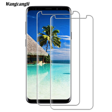 Tempered Glass Forsamsung a9 a8 2018 glass Screen Protector 2.5D Film Explosion Proof HD For samsung s7 s8 s9 screen protector