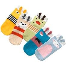 5Pairs/Lot Childrens socks autumn  winter cartoon fashion, boys and girls socks, baby moving cotton new