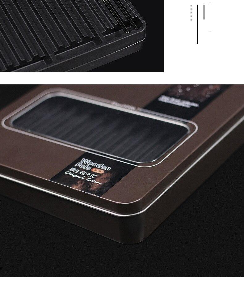 náilon de pintura escova ferro caixa artista