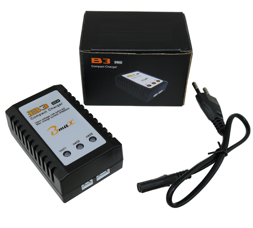 F08474 IMAX RC B3 Pro Compact Balance Charger for 2S 3S 7.4V 11.1V Lithium LiPo Battery + Freepost 10pcs 10cm 100mm rc lipo battery balance charger cable 2s 3s 4s 5s 6s 22awg cable silicon wire plug for imax b3 b6
