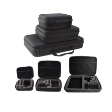 Portable Carry Case Small Medium Large Size Accessory Anti-shock Storage Bag for Gopro Hero 3/4 Sj 4000 XiaomiYi Action Camera portable camera case accessories medium size eva hard bag box for gopro hero hd 4 3 3 2 l3fe