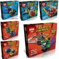 Лепин Super Heroes 6 компл. Серия Могучий Micros Мстители Бэтмен Marvel Строительные Блоки, Совместимые С legoe Модели и Строительство Игрушки
