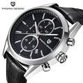 PAGANI DESIGN Brand Men Sport Watch Male Stainless Steel Waterproof Quartz Chronograph Wrist Watch Military Watch Men Clock