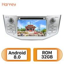 """Harfey 2Din Android 8.0 7 """"Radio samochodowe dla Lexus RX 400h RX 330 RX 350 RX 300 toyota harrier odtwarzacz multimedialny gps jednostka główna"""