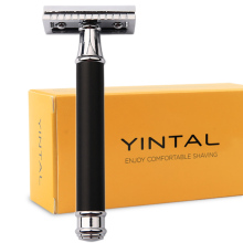 Classic Safety Razor For Men Manual Blade Replaceable Shaver Brass Blank Handle Razors for Shaving Men mens razors men manual shavers classic safety razor manual shaving