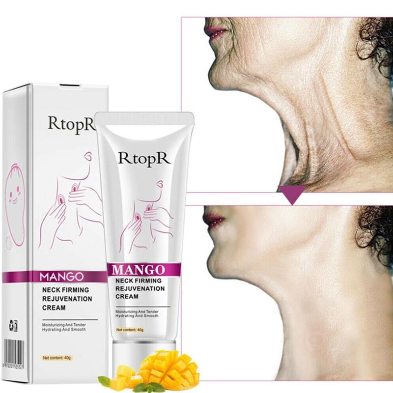 40g Neck Cream Anti Wrinkle Remove Neck Mask Whitening Moisturizing Firming For Neck Masks Skin Care Delicate And Slippery