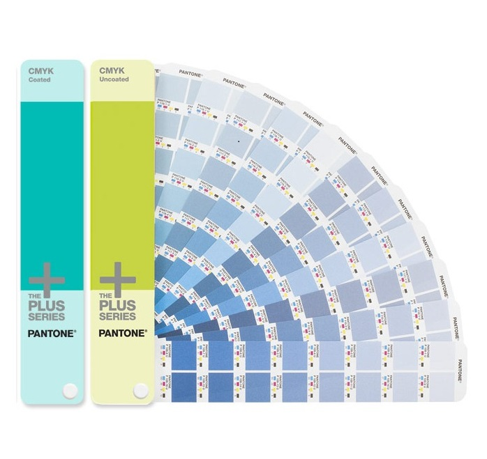 2 Books Pantone CMYK GP5101 Coated Uncoated Color Guide Pantone GP5101 жидкость cmyk key 100мл 0мг