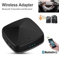 Brand New Optic Fiber Bluetooth Wireless Adapter 4.2 Bluetooth Transmitter Receiver 2 In 1 Machine for TV Speaker HD Adapter