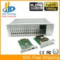 Chassis 3U 16 Canais HDMI Para Áudio Embutido Codificador de Vídeo IP H.264 HD Codificador IPTV HTTP, RTSP, RTMP, UDP, ONVIF