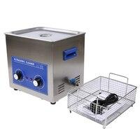 Ультразвуковая чистка 7L 40 кГц Нержавеющаясталь SUS304 бытовой Кухня очистки Приспособления PS D40 ультразвуковой чистки