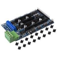 Bigtreetech Ramps 1 5 Upgrade Base On Ramps 1 4 3D Control Panel Mainboard Reprap Mendel