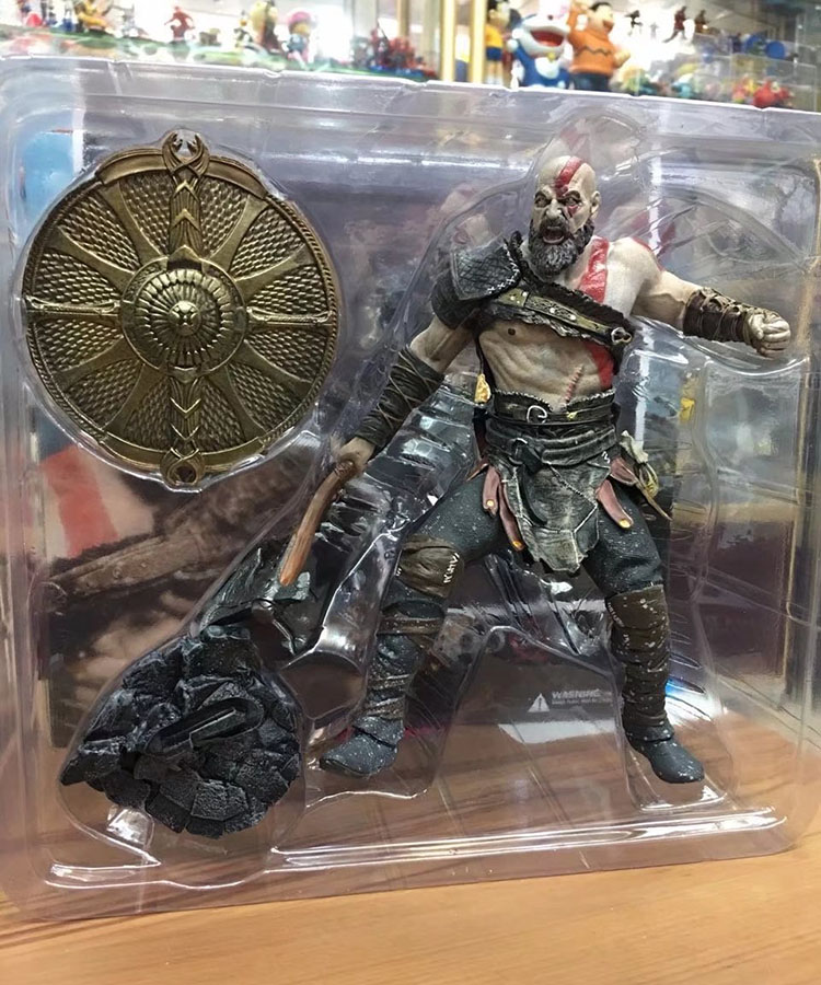 God Of War 4 Kratos Action Figure 1/8 scale painted figure Fighting Ver. Kratos PVC figure Toy Brinquedos Anime god of war 2 pvc action figure display toy doll kratos with flaming blades