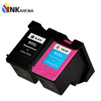 2PCS Ink Cartridge For HP 60 Cartridges For HP60 XL Deskjet 4400 F4440 F4480 F4435 4500