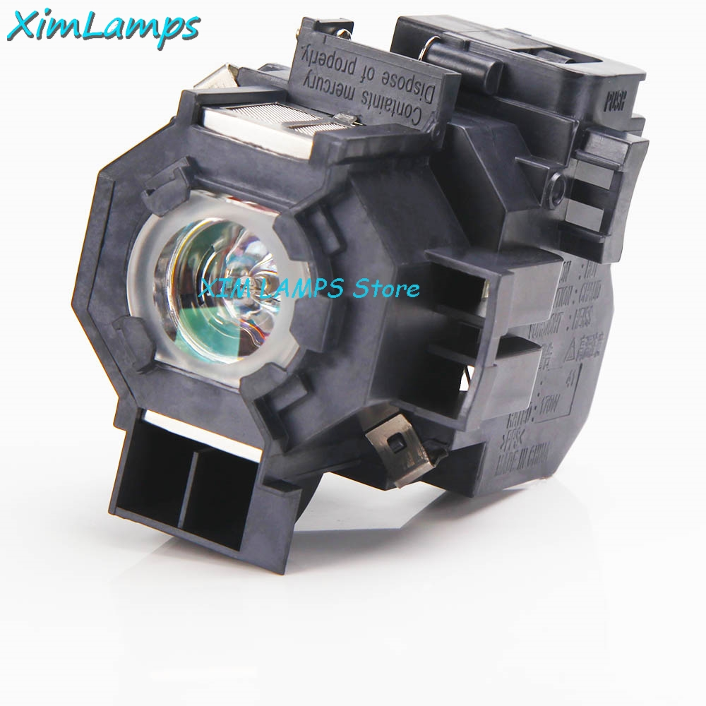 ELPLP41 Replacement Projector Lamp with Housing For Epson PowerLite S5 / S6 / 77C / 78, EMP-S5, EMP-X5, H283A, HC700 awo sp lamp 016 replacement projector lamp compatible module for infocus lp850 lp860 ask c450 c460 proxima dp8500x