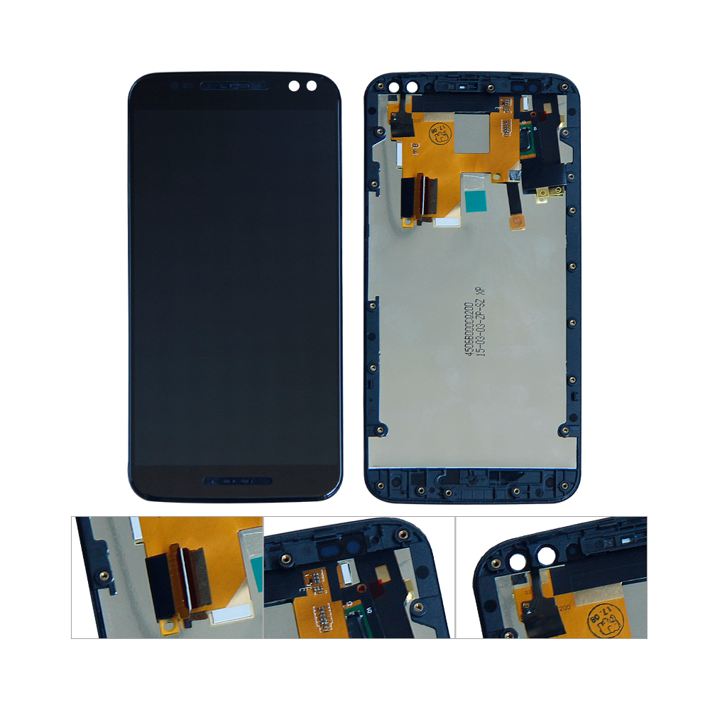 For Moto X Style XT1572 LCD Display Touch Screen Digitizer Assembly Replacement With FrameFor Moto X Style XT1572 LCD Display Touch Screen Digitizer Assembly Replacement With Frame