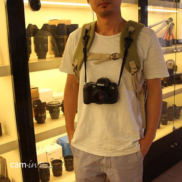 Cam in cam3000 profesional correa para cámara mochila cordón especial fotografía Cordón de bolso