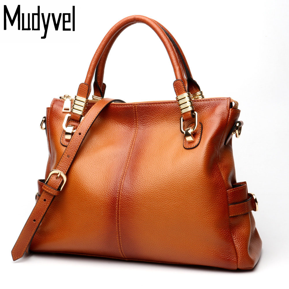 New luxury handbags women bags designer Real soft cow leather genuine leather handbags Stylish simple woman shoulder bags