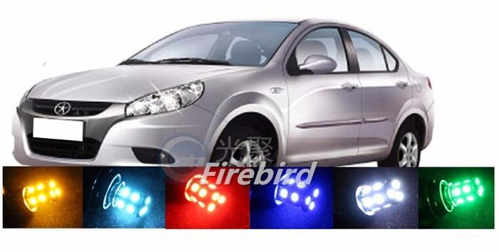 2 x 1157/BAY15D 1156/BA15S 2W white red led car or motorcycle daytime reverse running brake lights bulb